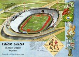 15528 Mocambique, Card 1968 Estadio Salazar Lourenco Marques - Mozambique