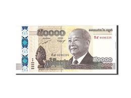 Cambodge, 50,000 Riels, 2013, Undated, KM:61a, NEUF - Cambodia
