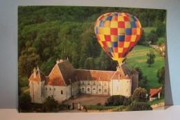 CHATEAU DE  FILAIN  --- Montgolfière - Frankreich
