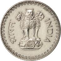 INDIA-REPUBLIC, 25 Paise, 1985, Calcutta, TTB+, Copper-nickel, KM:49.1 - Inde