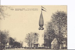 1 CP Exposition D´Anvers 1930. Avenue De L'Expsition. Foule - Antwerpen