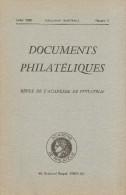 Documents Philateliques - Numero 5 - Voir Sommaire - Littérature