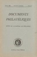 Documents Philateliques - Numero 6 - Voir Sommaire - Littérature