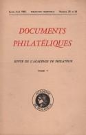 Documents Philateliques - Numero 23 Et 24 - Voir Sommaire - Littérature