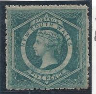 Colonie Anglaise, Nouvelle Galles Du Sud, N° 29 * Dent 13 - Grande-Bretagne (ex-colonies & Protectorats)