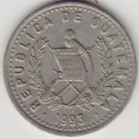 @Y@   Guatemala  25 Centiem  1993     Km  278.5    (3547) - Guatemala