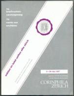 Catalogue De Vente CORINPHILA  N°74 Of March 1987, ZURICH, 187 P.  + 148 Pl + 12 Pl Couleur  - MX017 - Catalogues De Maisons De Vente