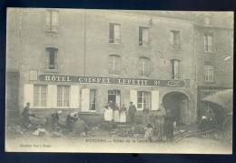 Cpa  Du 50  Périers Hôtel De La Croix Blanche -- Hôtel Coispel Lepetit ....  Canton Agon Coutainville  NCL9bis - Coutances