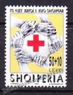 Albania - Albanie 1996 Yvert 2361, 75th Anniversary Of The Albanian Red Cross - MNH - Albanie