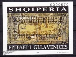 Albania - Albanie 1998 Yvert BF 90, Shroud Of Gallavenices - MNH - Albania