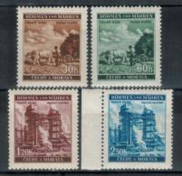 BÖHMEN&MÄHREN 1941 - MiNr: 75 - 78 Komplett ** /MNH - Böhmen Und Mähren