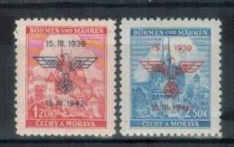 BÖHMEN&MÄHREN 1942 - MiNr: 83 - 84  Komplett  * /MH - Böhmen Und Mähren