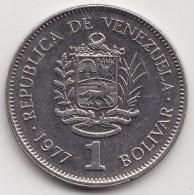 @Y@   Venezuela   1 Bolivar  1977    Y#52        (3557) - Venezuela