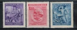 BÖHMEN&MÄHREN 1943 - MiNr: 128 - 130   Komplett  **/MNH - Böhmen Und Mähren