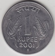 @Y@   India  1 Rupee   2001    KM 92.2    (3559) - Inde