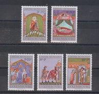 Luxemburg 1974 Mi 893 - 897  ** MNH Caritas  -  A302 - Scultura