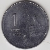 @Y@   India  1 Rupee   2008    KM 331    (3560) - India