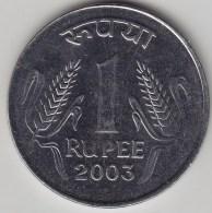 @Y@   India  1 Rupee   2003    KM 92.2    (3562) - India