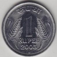 @Y@   India  1 Rupee   2003    KM 92.2    (3565) - India