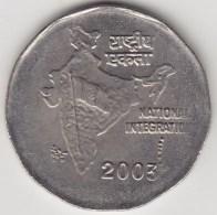 @Y@   India  2  Rupee   2003    KM 121.5     (3569) - India