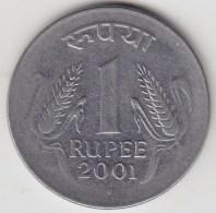 @Y@   India  1  Rupee   2001    KM 92.1     (3570) - India