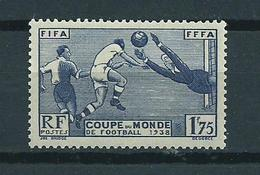 1938 France Coupe Du Monde,world Cup Football MNH/Postfris/Neuf Sans Charniere - France