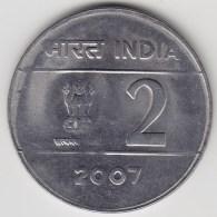 @Y@   India  2  Rupee   2007    KM 327     (3574) - India
