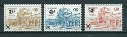 1970 Belgium Complete Set Postpakket Overprint MNH/Postfris/Neuf Sans Charniere - Belgique
