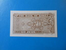 Corée Du Sud South Korea 50 Jeon 1962 P29a UNC - Corée Du Sud