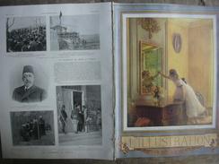 L'ILLUSTRATION 3453 LE SALON/ MONACO/ TURQUIE/ NICE 1er Mai 1909 - Newspapers