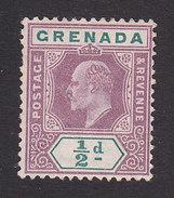 Grenada, Scott #48, Mint No Gum, Ling Edward VII, Issued 1902 - Grenada (...-1974)