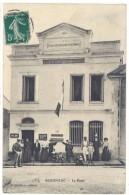 Cpa Segonzac - La Poste      ((S.840)) - France