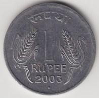 @Y@   India  1 Rupee   2003   KM 92.2      (3578) - India