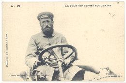Cpa Automobile - Le Blon Sur Voiture Hotchkiss   ((S.841)) - Cartes Postales