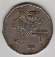 @Y@   India  2  Rupee   1992   KM 121.3      (3583) - India