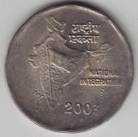 @Y@   India  2  Rupee   2003    KM 121.5      (3584) - India