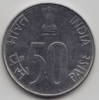 @Y@   India    50 Paise  1996  KM 69      (3585) - India