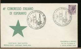 ITALIA - CONGRESSO ESPERANTO 1970 - Esperanto