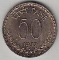 @Y@   India    50 Paise  1977  KM 63      (3588) - India