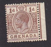 Grenada, Scott #93, Mint Hinged, King George V, Issued 1914 - Grenada (...-1974)