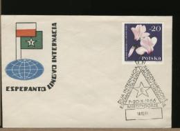 POLSKA  - CONGRESSO ESPERANTO 1966 - Esperanto