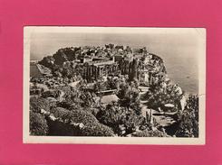 MONACO, Le Rocher Et Les Jardins Exotiques, 1953, (La Cigogne) - Monte-Carlo