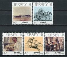 Jersey 1986. Yvert 382-86 ** MNH. - Jersey