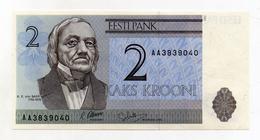 Estonia - 1992 - Banconota Da 2 Corone - Nuova - (FDC 1501) - Estonia