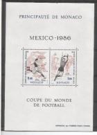 MONACO 1986 COPA DEL MUNDO DE FUTBOL MEXICO DEPORTE FOOTBALL - World Cup