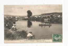 Cp , 02 , CHATEAU THIERRY , Pêche , Pêcheurs , Rives De La MARNE , Voyagée 1908 - Chateau Thierry