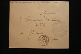 Lettre FM Prisonniers De Guerre Séchilienne Isère 16/11/17 - Oorlog 1914-18
