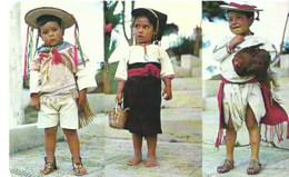 Costumes Typiques De Altos De Chiapas Mexique - Messico