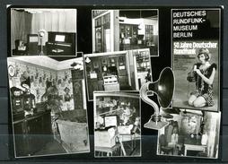 "Germany Berlin 1973 Sonderkarte""Intern.Funkausstellung,Berlin,Rundfunk-Museum""mit SST""Berlin12-Inter.Rundfunk..""1 AKused - Exposiciones"