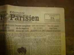 1931 LE PETIT PARISIEN : HONG-KONG ; Laval Reçoit La Fédération De Sauvetage; Etc - Journaux - Quotidiens